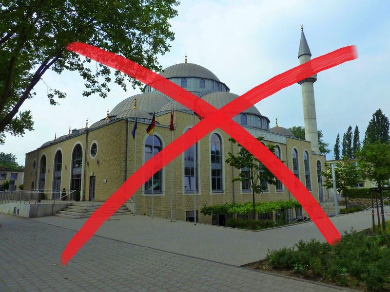 Prunkmoschee radikaler Islamisten in Duisburg verhindern!