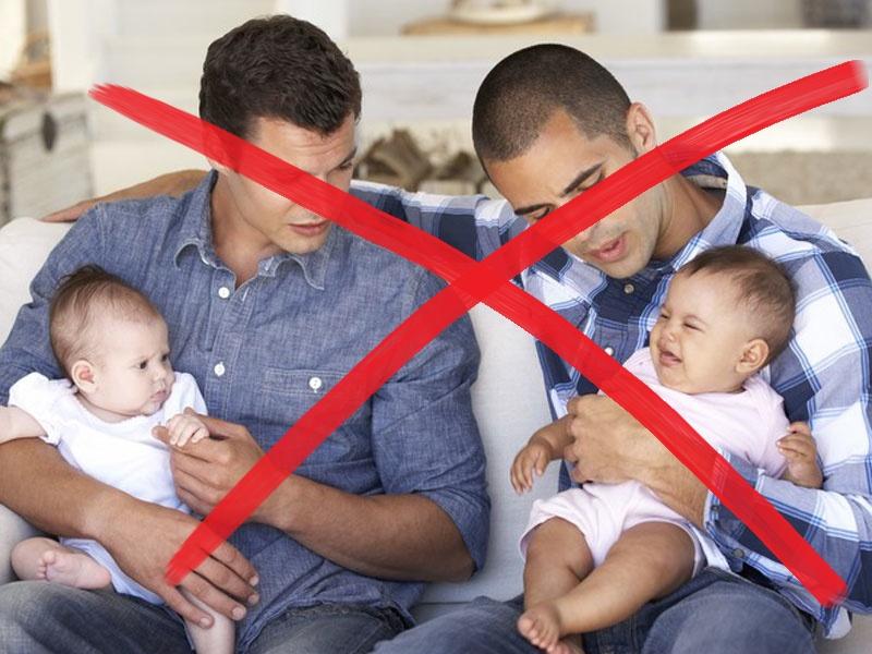 Adoptionsrecht für Homosexuelle stoppen – Kinder haben ein Recht auf Vater und Mutter!