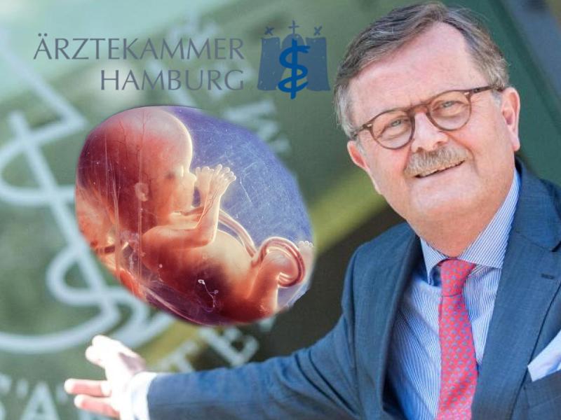 Hamburgs Ärzte sollen sich für den Schutz des Leben einsetzen, nicht für Abtreibungswerbung!