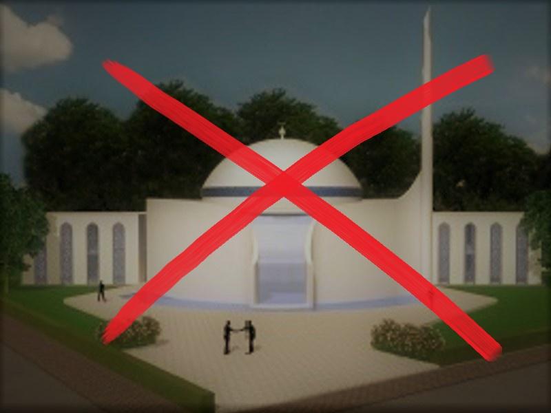 DiTiB-Moscheebau in Marl stoppen!