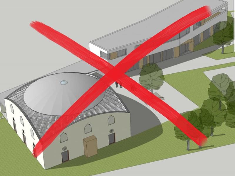 Sofortiger Baustopp für die Mega-Moschee in Klagenfurt!