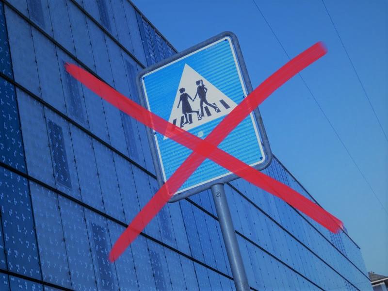 Frau Stadtpräsidentin, Hände weg von unseren Straßenschildern – Keine Homo-Schilder in Genf!