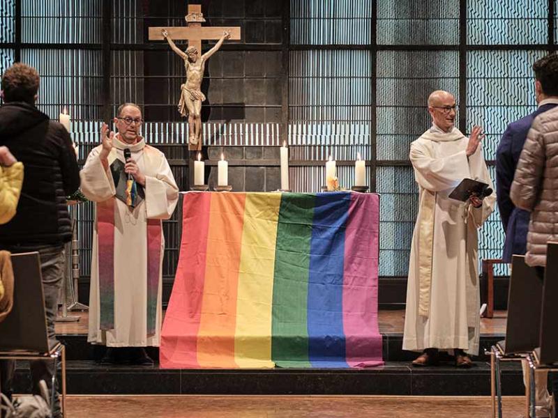 NEIN zu den Homo-Segnungen – JA zur Einheit der Kirche!